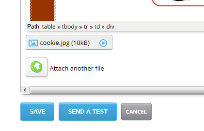 Add email attachments to your JangoMail messages big or small, even personalize attachments!